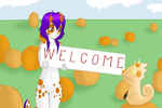 Contest: Welcome by ivoryK1tt3n