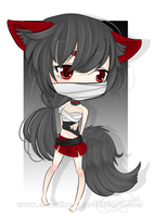 Chibi Commission - 4everabooklovergirl2 by Cifix