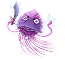 Day 682. Portuguese Man O' War by Cryptid-Creations