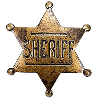 Old West Sheriff Badge by cmnixon