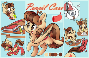 Pencil Case Reference Sheet by CutePencilCase