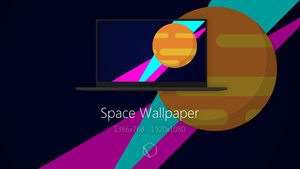 Space Wallpaper by TheButterCat