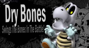 Dry Bones SSB4 Request by Elemental-Aura