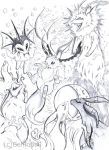 Eevee family by TamarinFrog