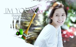 Happy B-day IM YOONA!!! by Jover-Design