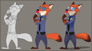 MOAR NICK #2: Officer Wilde reporting for duty by DirDash