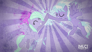 Flitter and Cloudchaser Wallpaper by EdwinprGTR