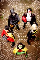 Batfamily - cosplay by XMenouX