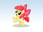 Apple Bloom Bein' Cute by WillDrawForFood1