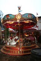 old carousel 2 by ingeline-art