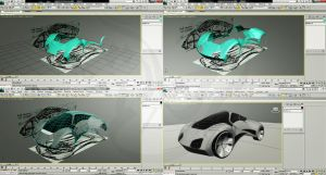 Conceptual car WIP by Tooomyyy