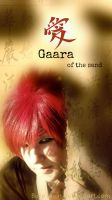 Gaara of the sand by BuruTsuin