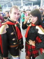 Final Fantasy Type 0 COSPLAY - Jack and Queen by Leuxdeluxe