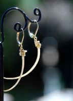 Python Rib Earrings by kittykat01