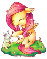 Fluttershy Cutie by angelishi