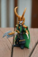 Clay Loki Full Armor by The-Wizard-WhoDid-it