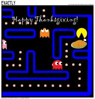 Pacman Thanksgiving by TerraHv1