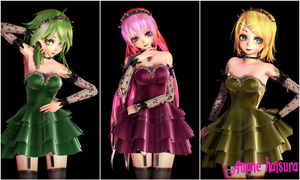 MMD TDA:New Pack? by AmaneHatsura