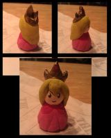 Clay: Princess Peach by WhiskeyxGirl90