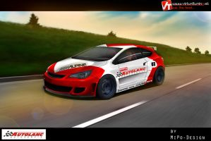 Opel astra by Mipo-Design