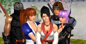 Welcome to DOA world Momiji by DRAGUNOV911