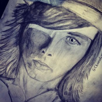 Chandler riggs by charcolized