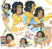 Commission: Julian! by Pheoniic