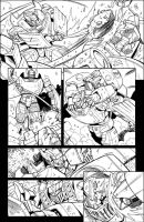AHM 12 page 1 lineart by GuidoGuidi