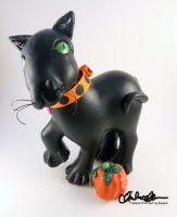 Happy Bear-o-ween MLP custom by thatg33kgirl