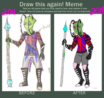 Improvement 2011 - 2014 Renni by sketchris