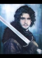 Jon Snow by teralilac