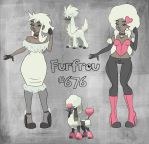 Furfrou Pinup by FlavorlessMuffin
