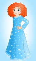 Little princess: Merida by Willemijn1991