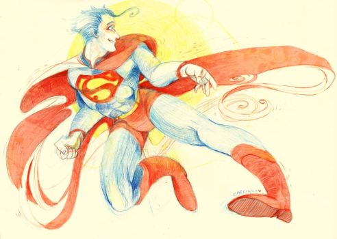 Superman by faQy