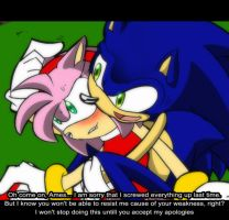 .:Anime Test -Is Amy Mad?- by PhoenixSAlover