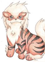 DMAP: Arcanine by smokecloud2743