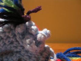 Mini Rainbow Dash Plushie Amigurumi Detail 3 by RTakeshi