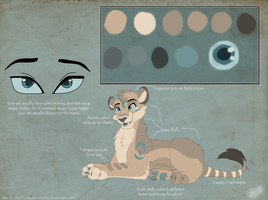 MatsuWolfess Ref Commission by Mickiie