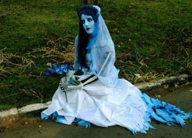 Emily Corpse Bride cosplay by BabiSparrow