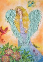 Heavenly angel by FiabeSCa