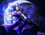 PATREON FAN ART: Princess Luna (My Little Pony) by galia-and-kitty