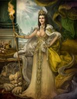Her Majesty the Queen by JonathanChanutomo