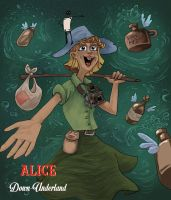 Alice in Down-Underland by AsherBuckley