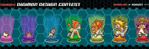 Entry to Digimon Evo Line Design Contest 2013 by FFBComics