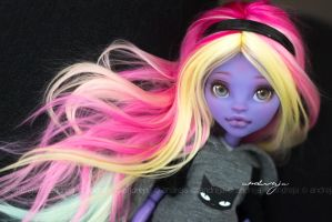 Art Contest prize - Custom doll MH Jane Boolittle by AndrejA