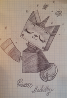 Princess Unikitty by DixieRarity
