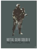 Metal Gear Solid V Poster by Gorillasnake