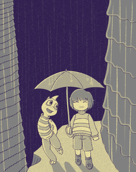You have an Umbrella? by Lord-Kiyo