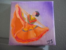 Traditional Dress! (Miniture Painting) by emokitten687