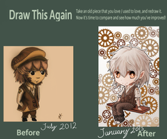 Draw It Again...chibis by Nikuwicca